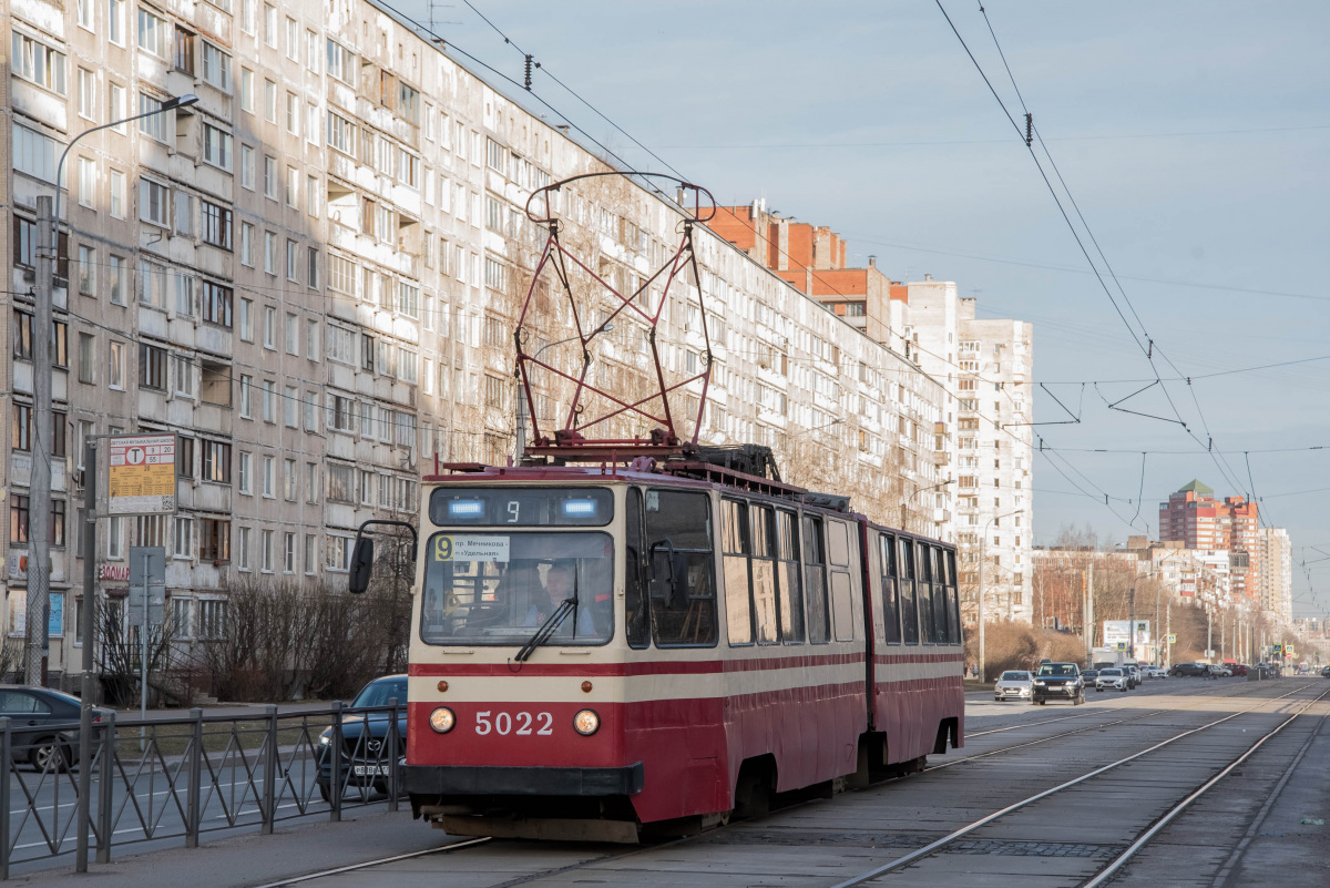 Санкт-Петербург. ЛВС-86К №5022