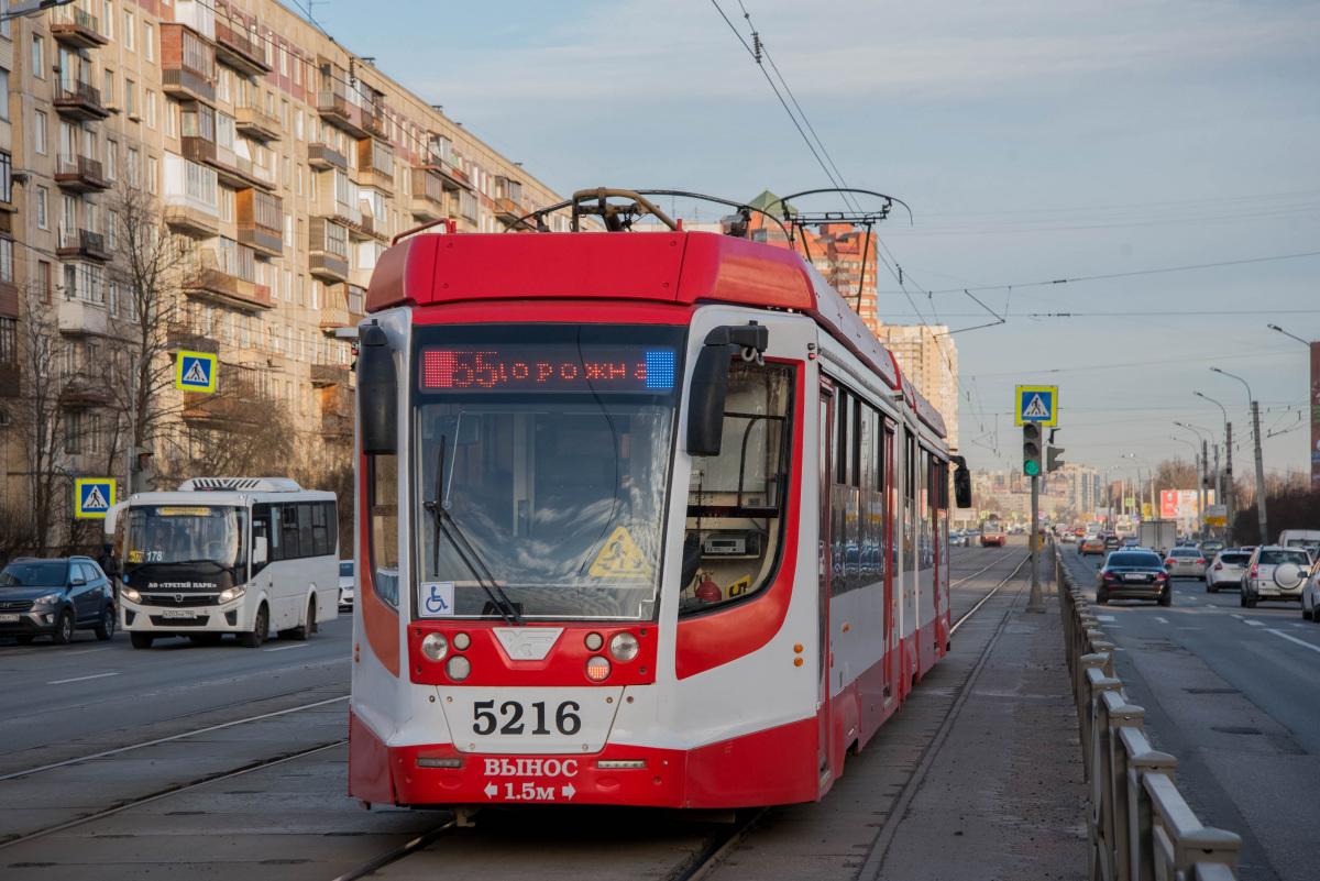 Санкт-Петербург. 71-631-02 (КТМ-31) №5216, ПАЗ-320435-04 Vector Next е203на