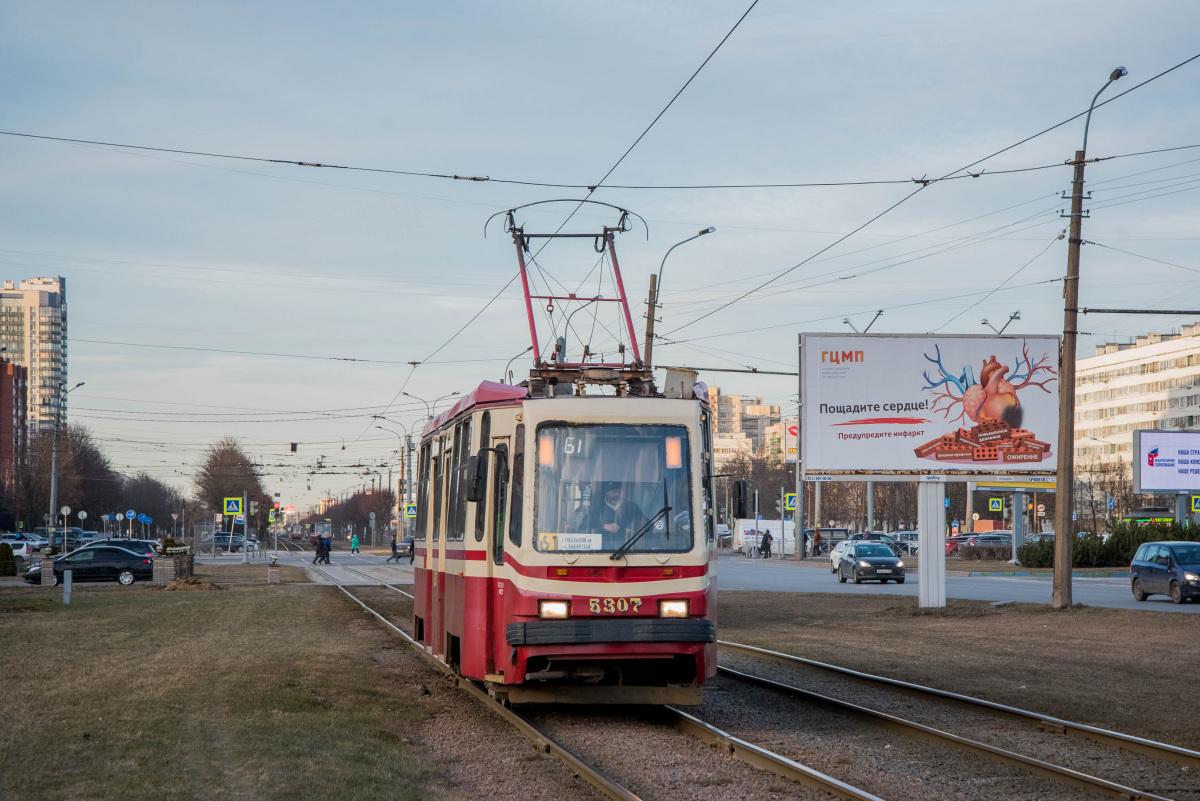 Санкт-Петербург. 71-134К (ЛМ-99К) №5307