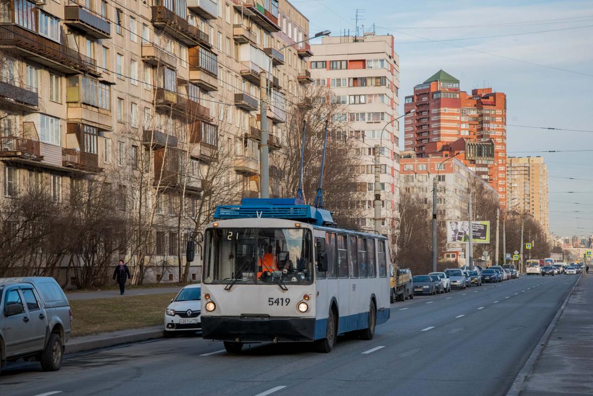 Санкт-Петербург. ВЗТМ-5284 №5419