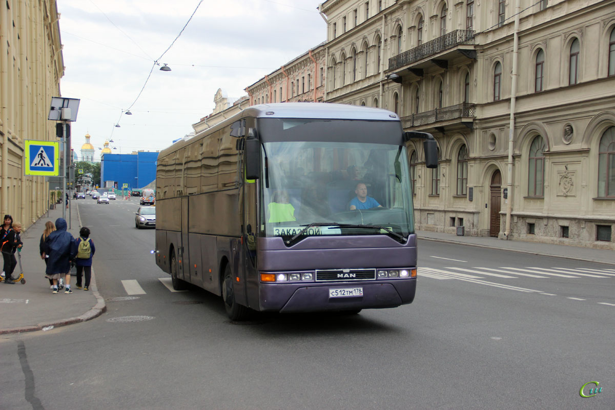 Санкт-Петербург. MAN A13 Lion's Coach с512тм