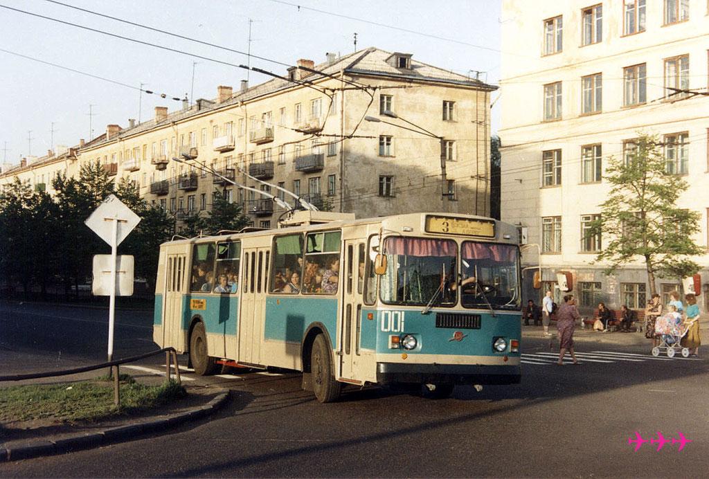 Новокузнецк. ЗиУ-682Г00 №001