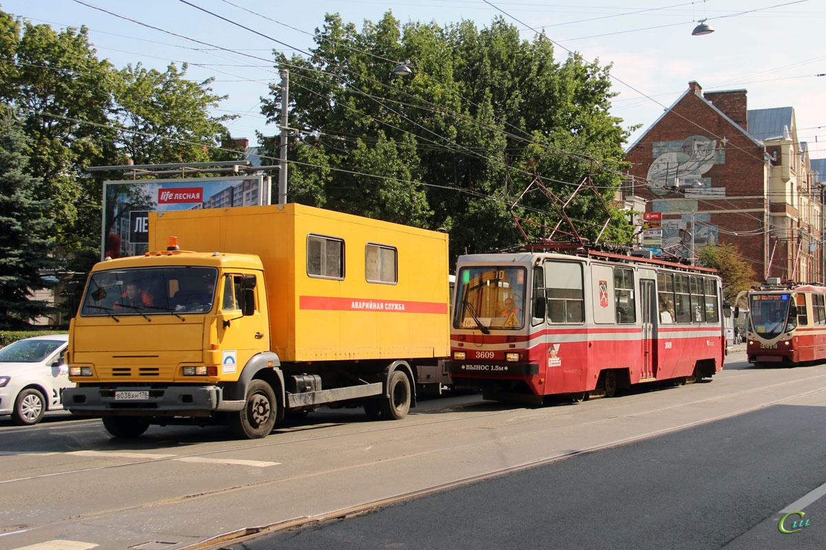 Санкт-Петербург. ТС-77 №3609