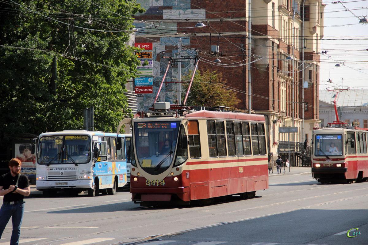 Санкт-Петербург. 71-134А (ЛМ-99АВН) №3919, ПАЗ-320402-05 в591оа
