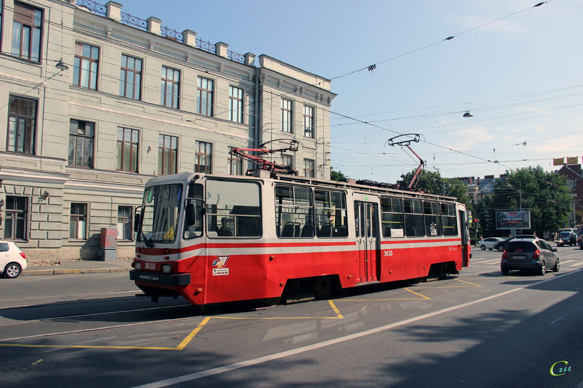 Санкт-Петербург. ТС-77 №3610