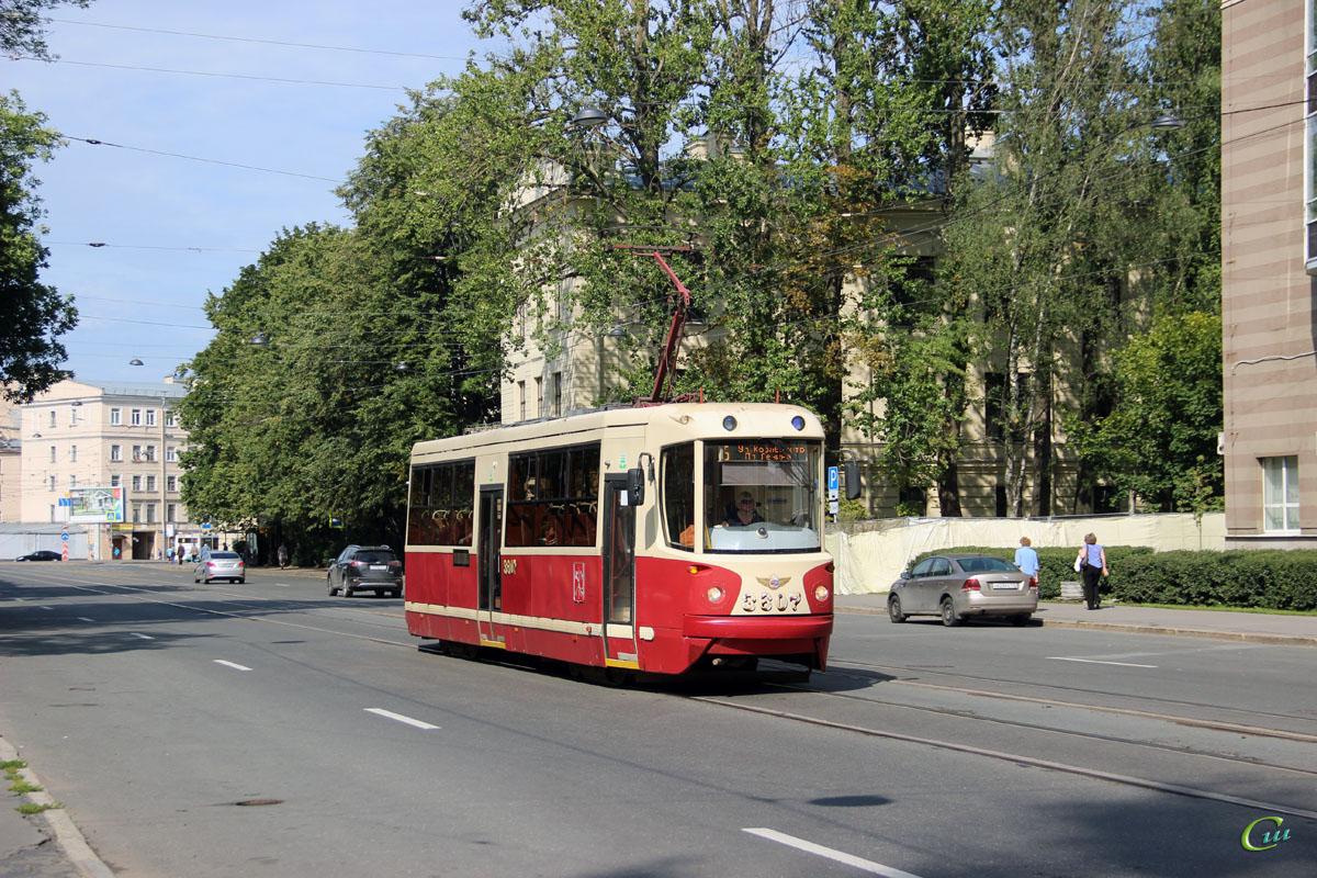 Санкт-Петербург. ЛМ-68М2 №3607