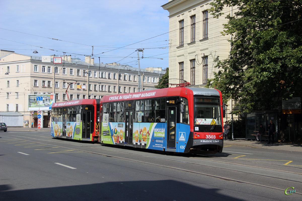 Санкт-Петербург. ЛМ-68М3 №3503, ЛМ-68М3 №3504