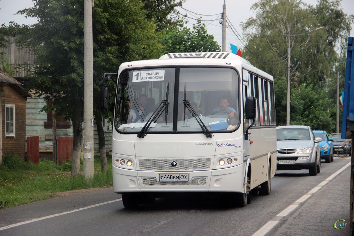 Переславль-Залесский. ПАЗ-320412-04 Вектор с448вм