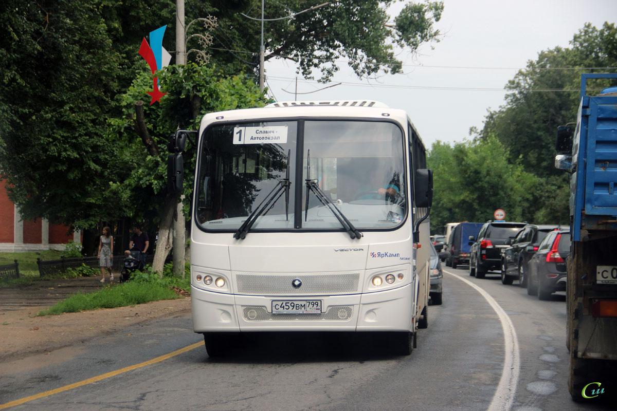 Переславль-Залесский. ПАЗ-320412-04 Вектор с459вм