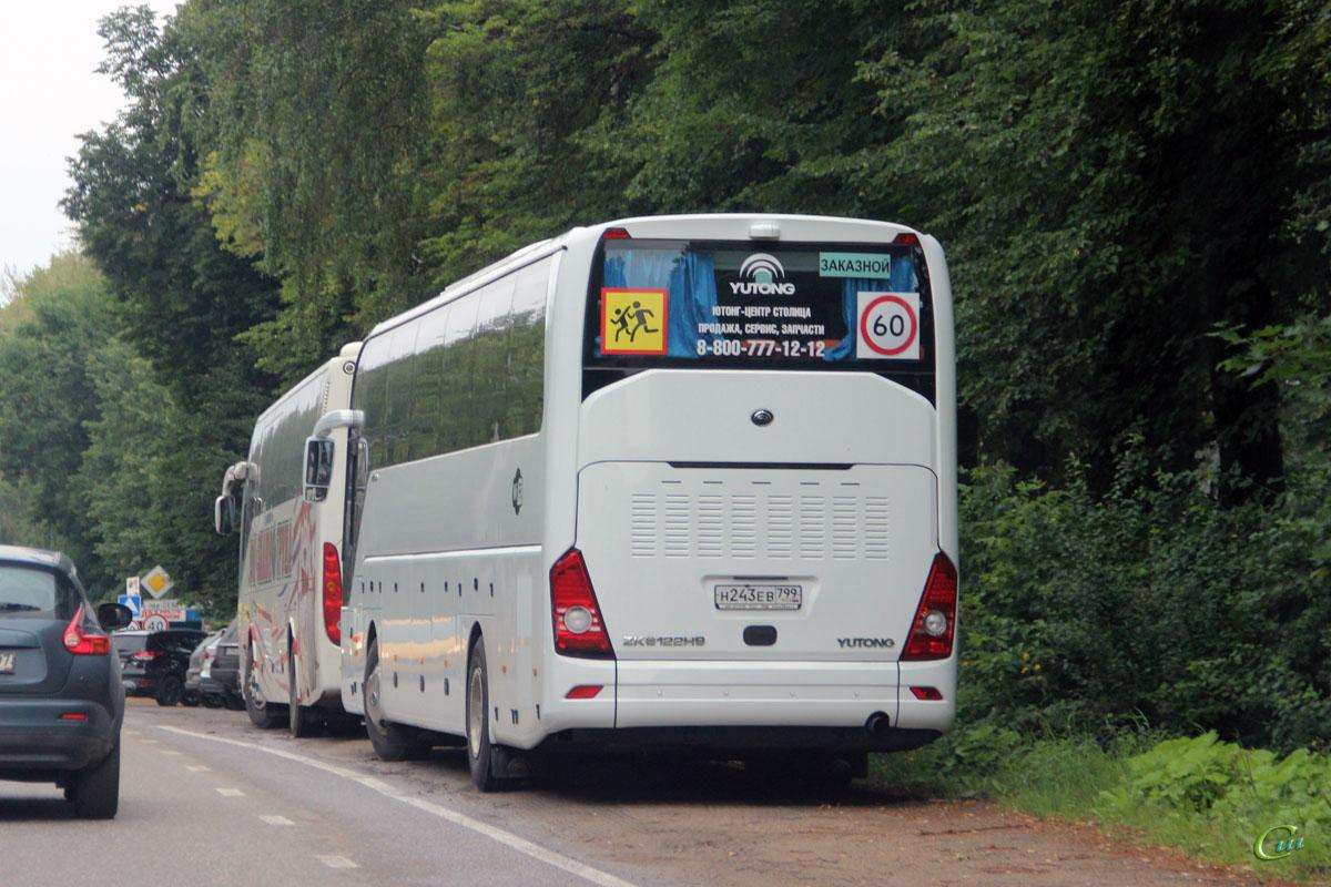 Переславль-Залесский. Yutong ZK6122H9 н243ев