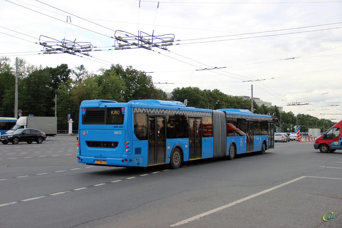 Москва. ЛиАЗ-6213.65 са789