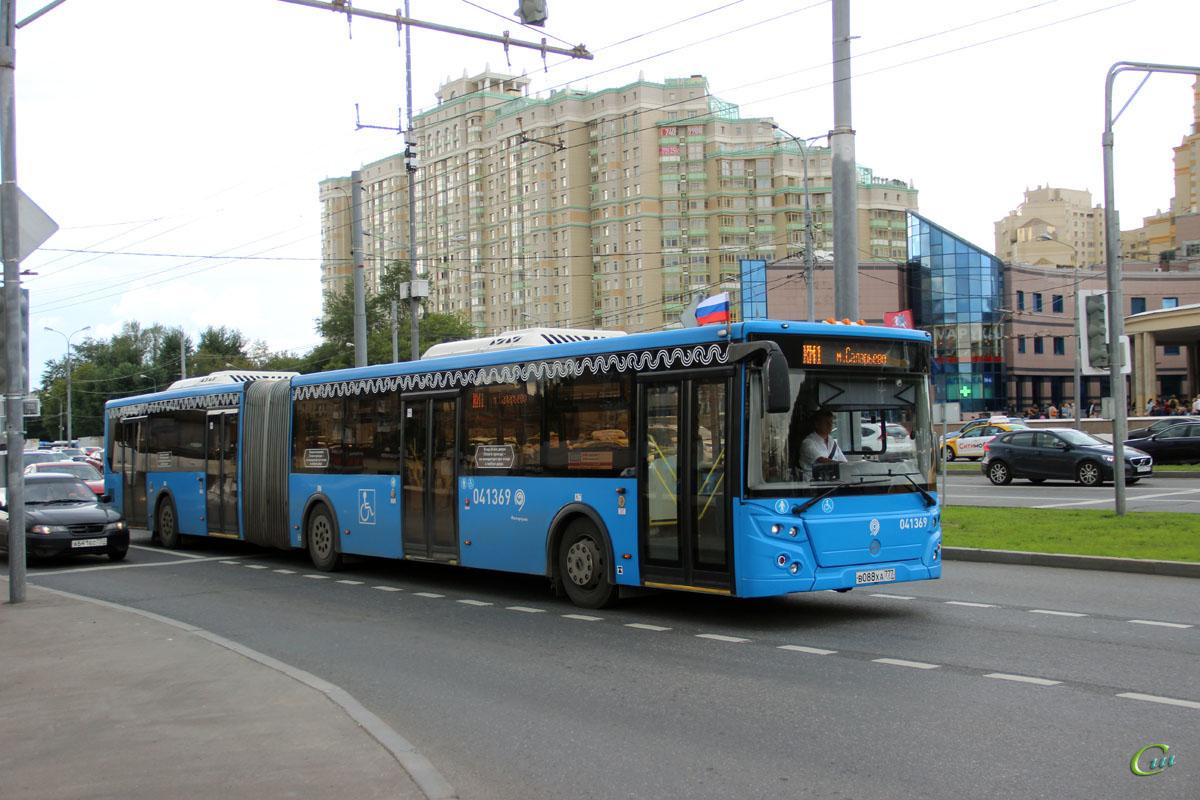 Москва. ЛиАЗ-6213.65 в088ха