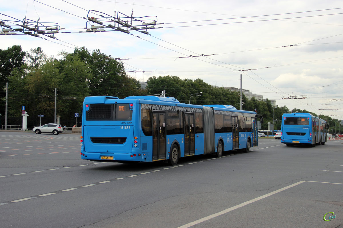 Москва. ЛиАЗ-6213.65 ос413
