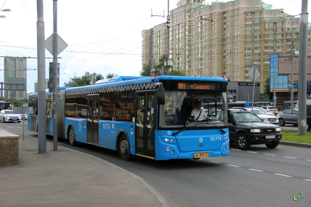 Москва. ЛиАЗ-6213.65 ок329
