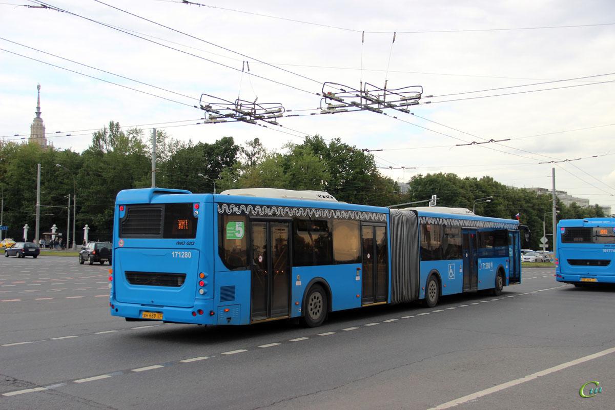 Москва. ЛиАЗ-6213.65 хн639