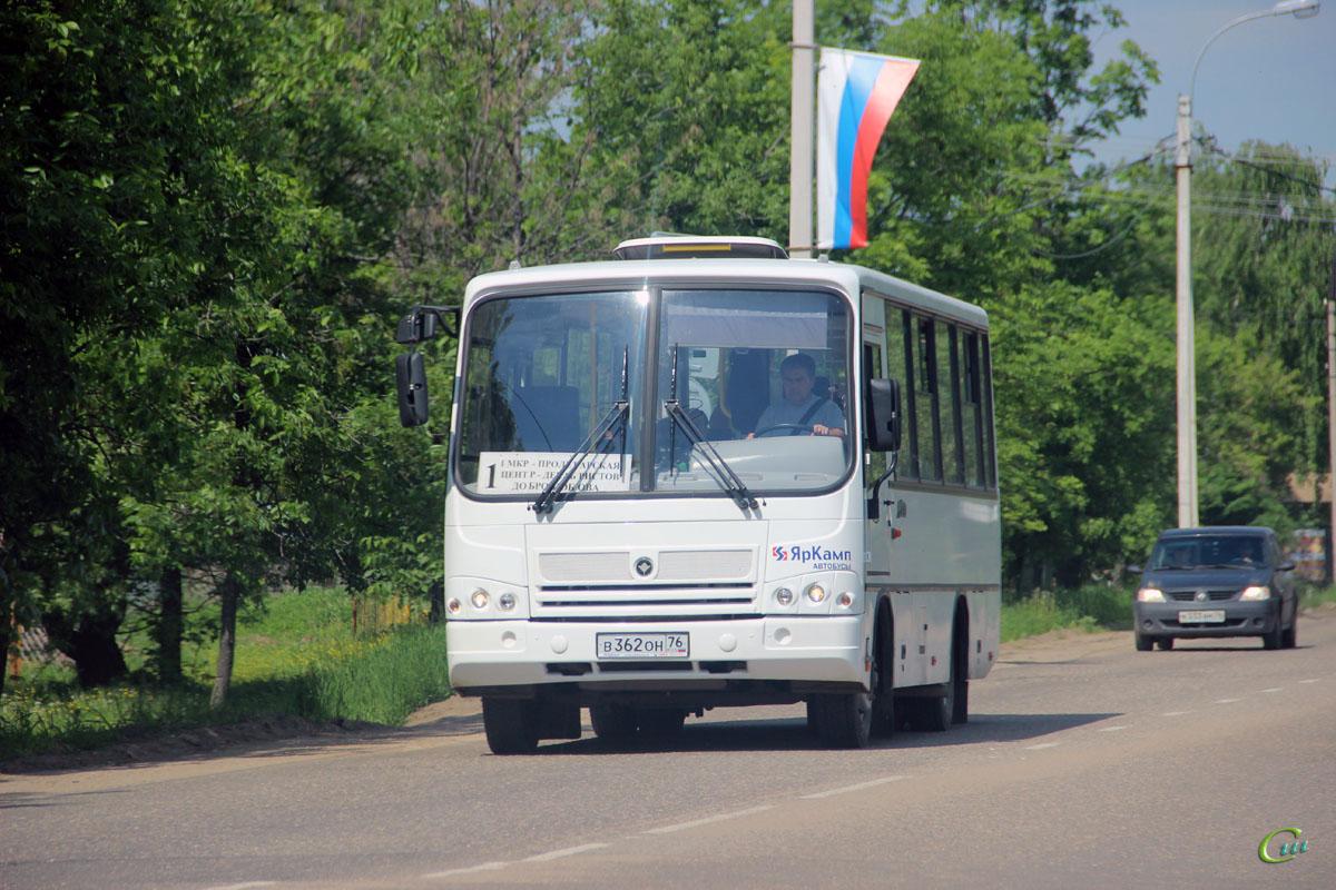 Ростов. ПАЗ-320402-05 в362он