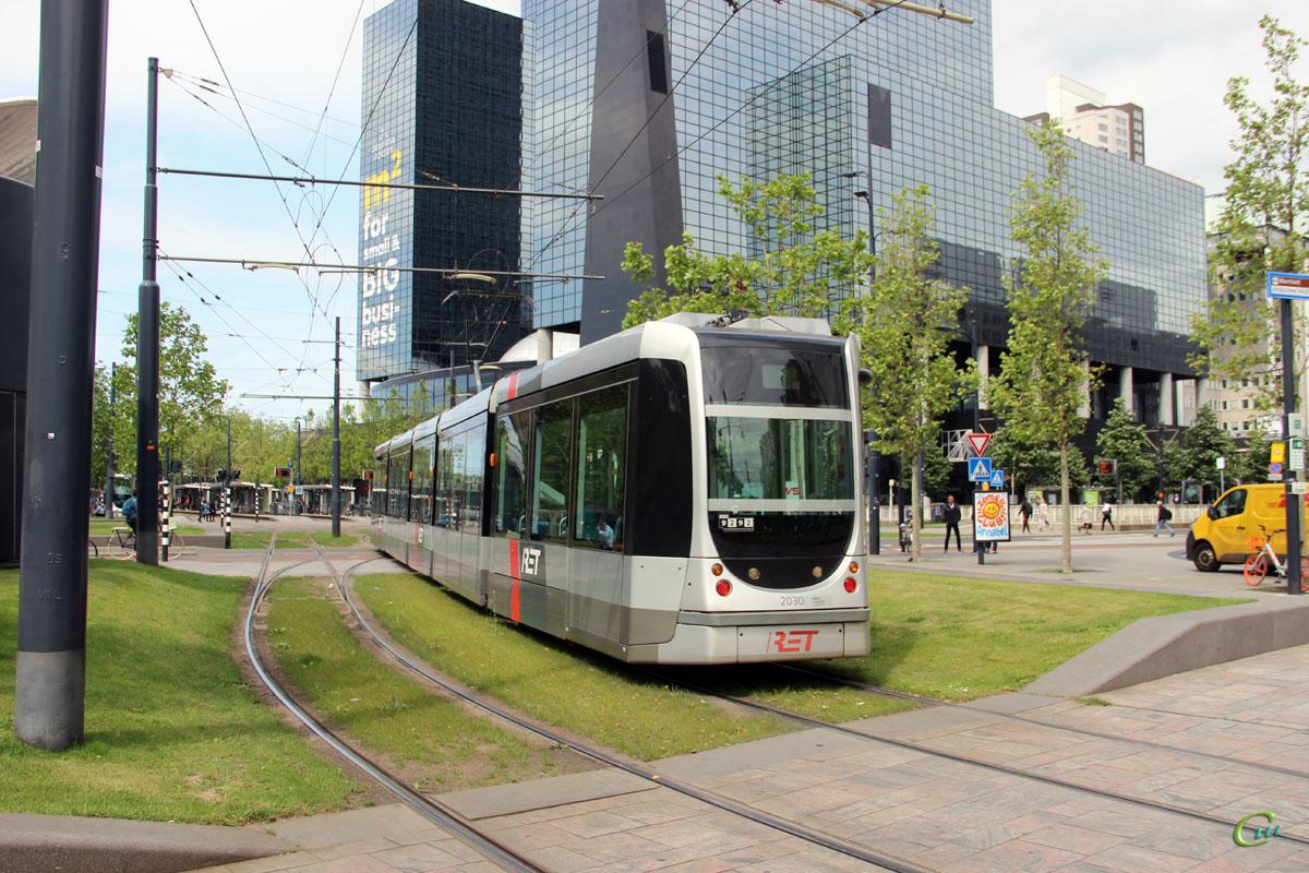 Роттердам. Alstom Citadis 302 №2030