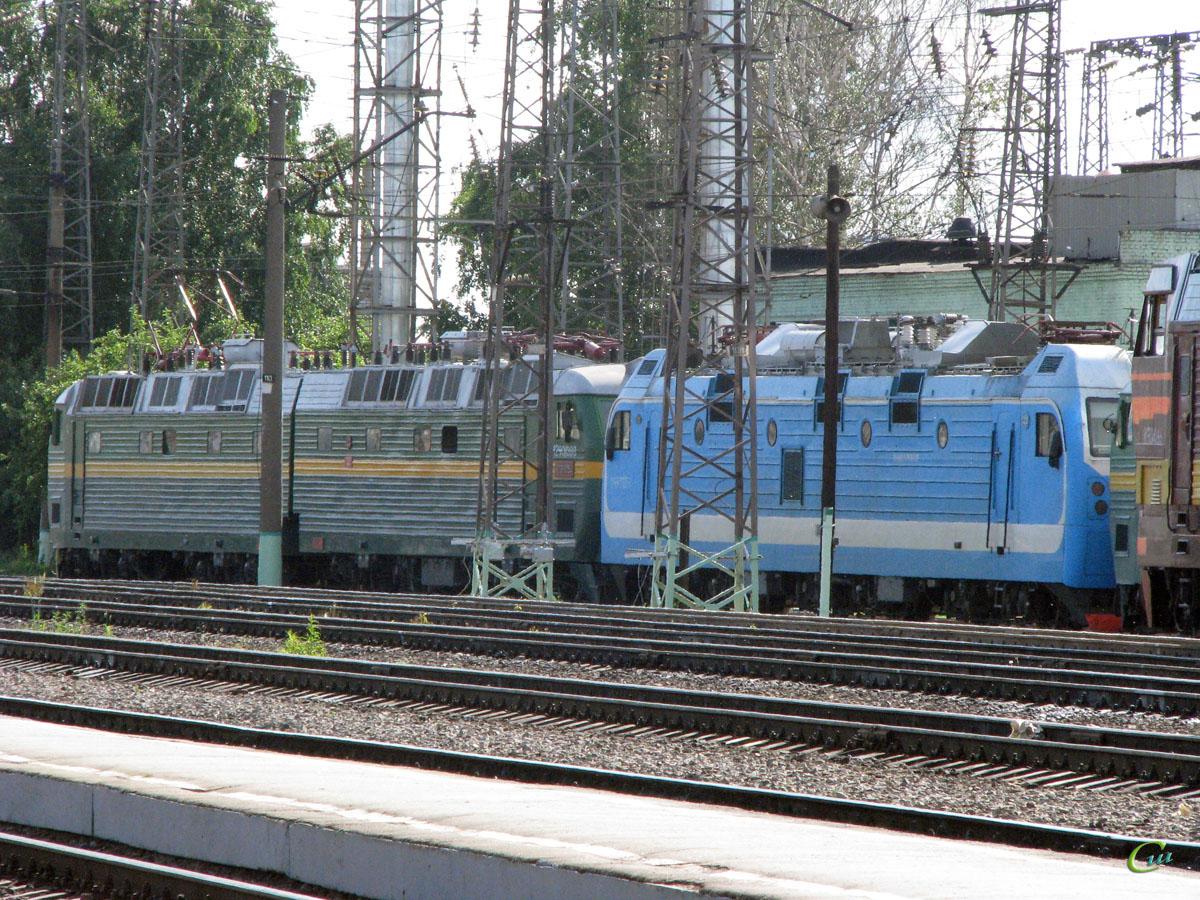 Рязань. ЭП1М-383, ЧС8-054