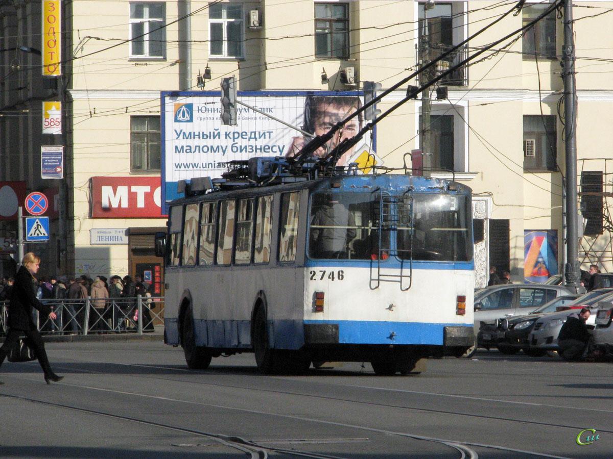 Санкт-Петербург. ЗиУ-682В00 №2746