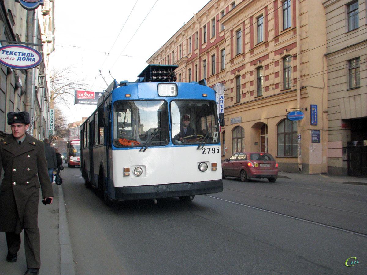 Санкт-Петербург. ЗиУ-682В-012 (ЗиУ-682В0А) №2795