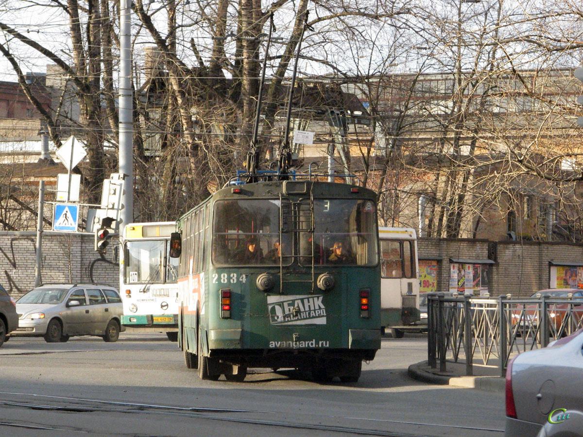 Санкт-Петербург. ЗиУ-682Г-013 (ЗиУ-682ГК) №2834