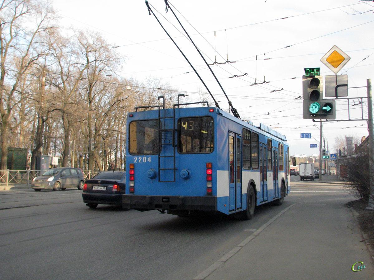 Санкт-Петербург. ПТЗ-5283 №2204