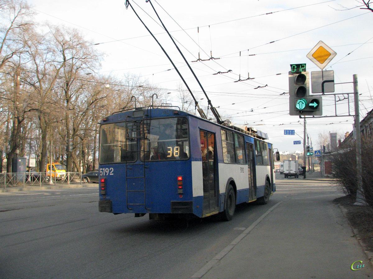 Санкт-Петербург. ВЗТМ-5284 №5192