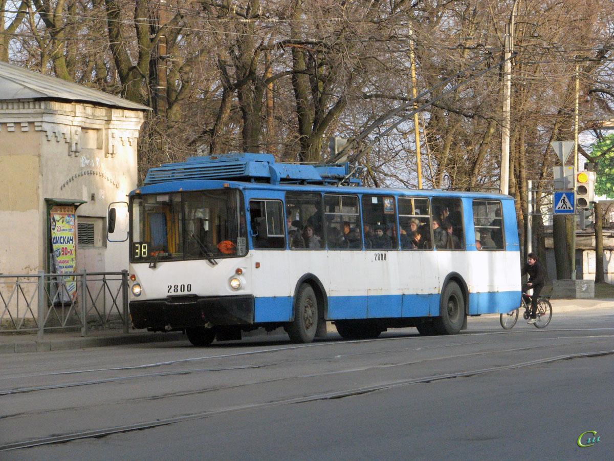 Санкт-Петербург. ВЗТМ-5284 №2800