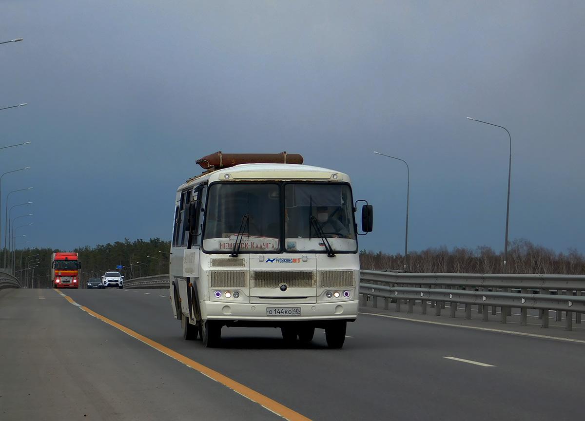 Калуга. ПАЗ-32053 о144ко
