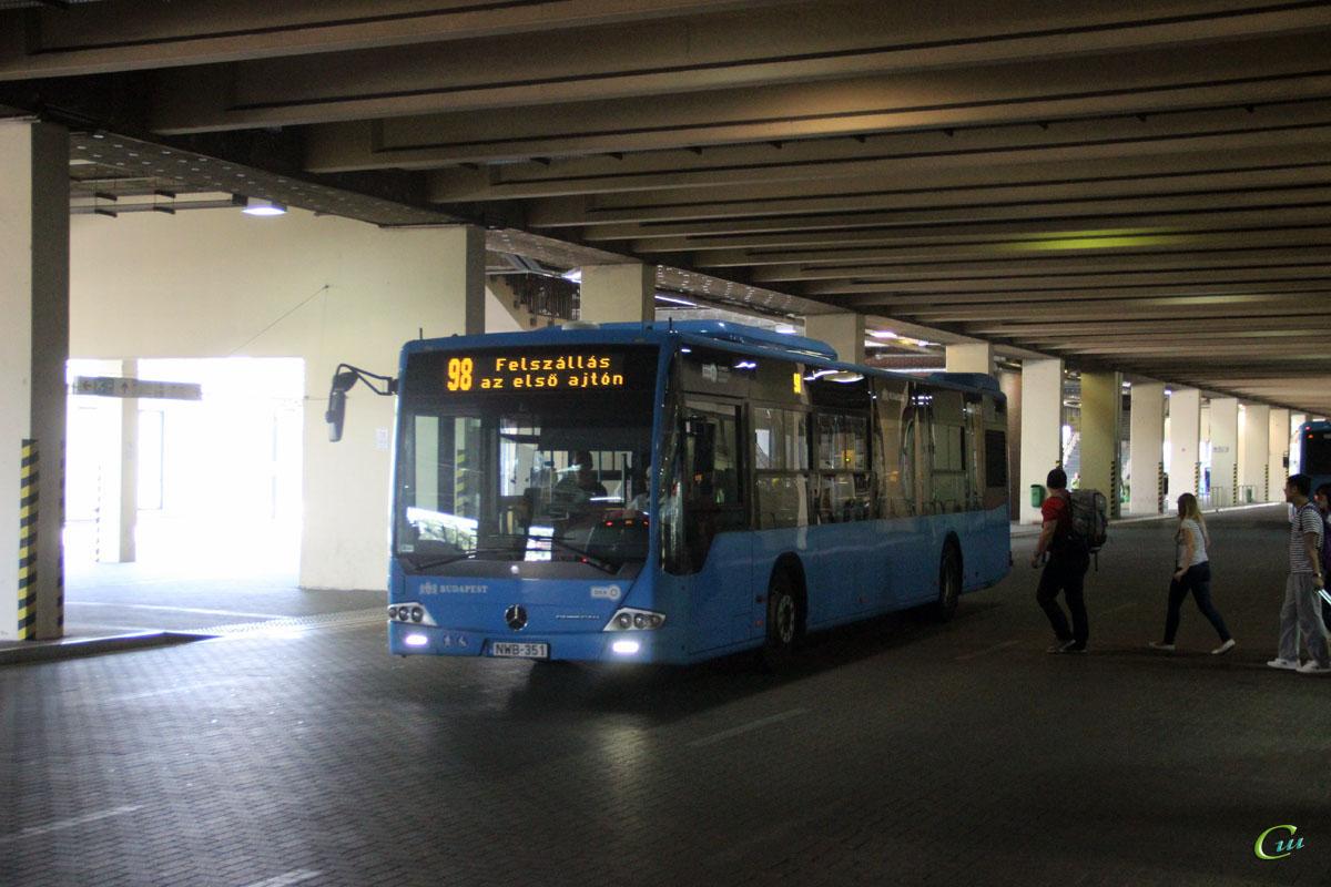 Будапешт. Mercedes-Benz O345 Conecto LF NWB-351