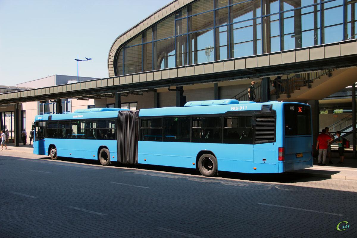 Будапешт. Volvo 7700A FKU-911