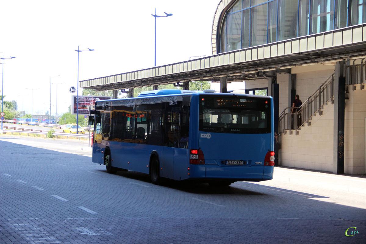 Будапешт. MAN A21 Lion's City NL283 NAY-330