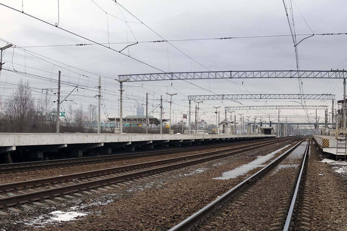 Санкт-Петербург. Станция Броневая