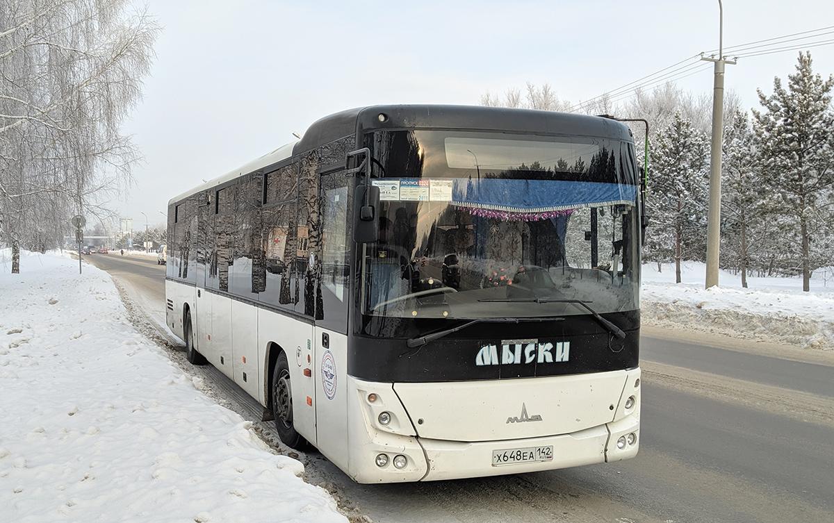 Кемерово. МАЗ-231.062 х648еа
