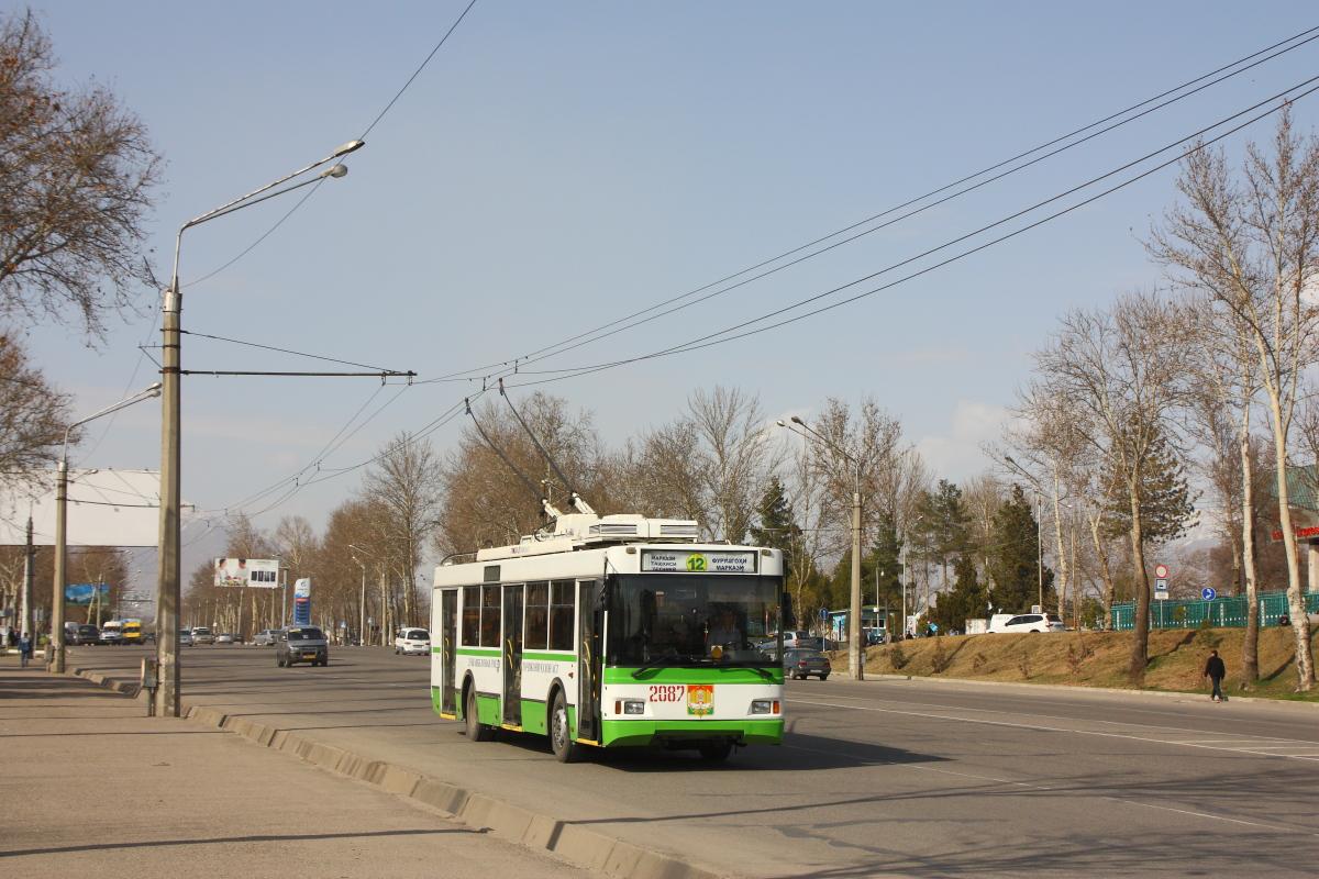 Душанбе. ТролЗа-5275.03 Оптима №2087