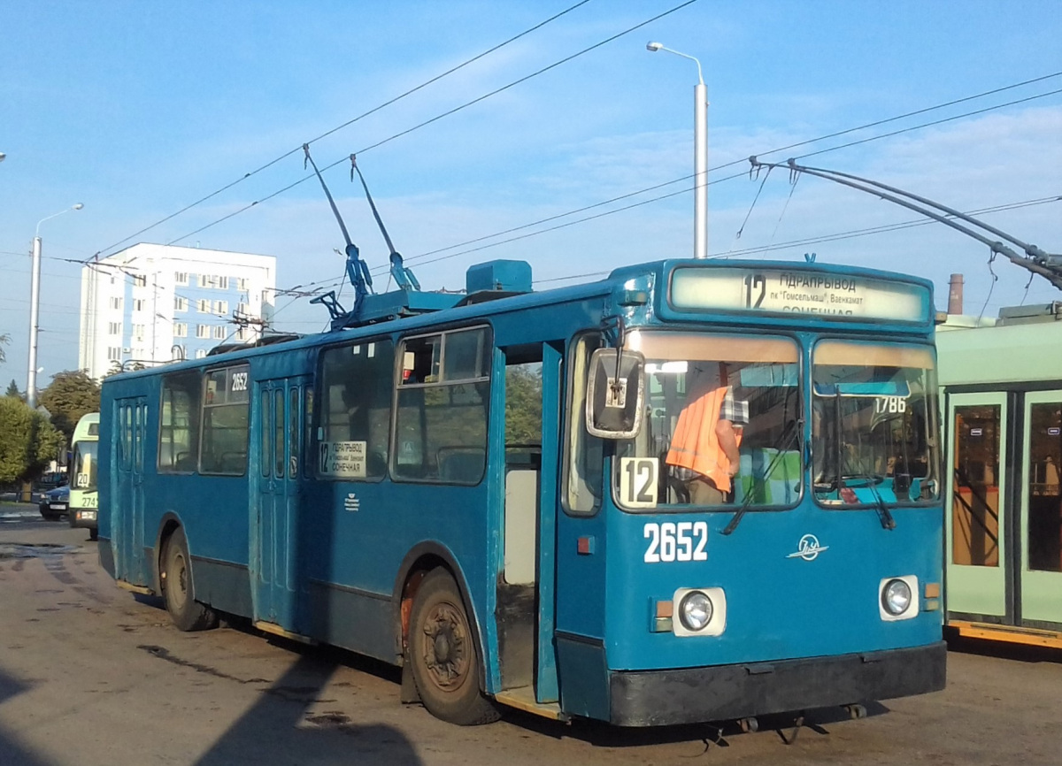 Гомель. ЗиУ-682 КВР Белкоммунмаш №2652