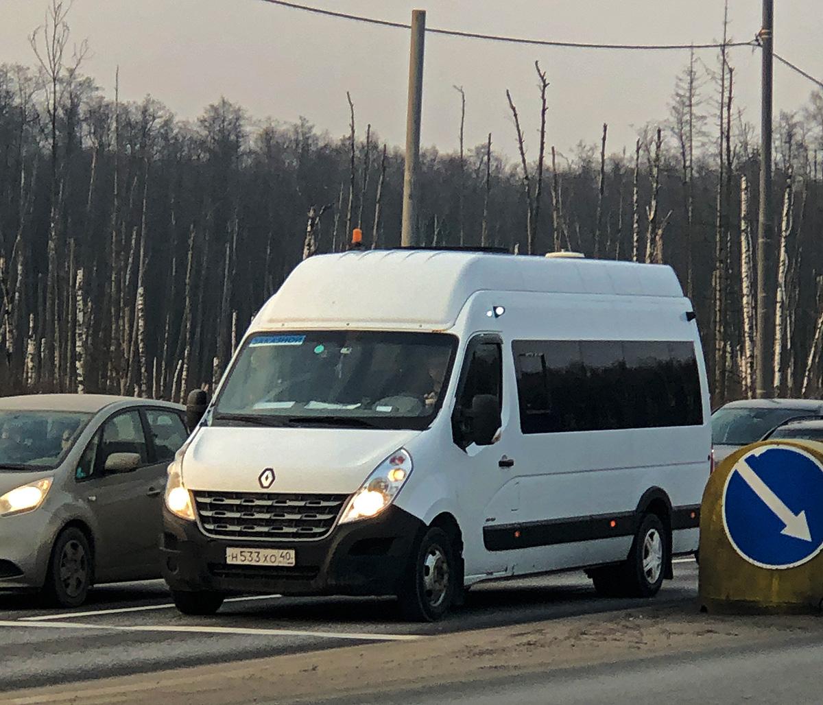 Москва. Нижегородец-RST (Renault Master) н533хо