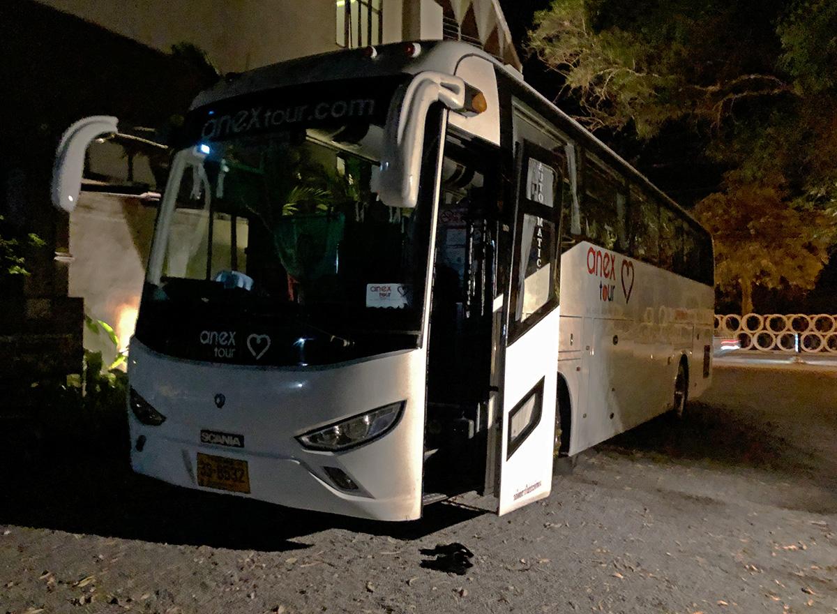 Пхукет. (автобус - модель неизвестна) 33-8532