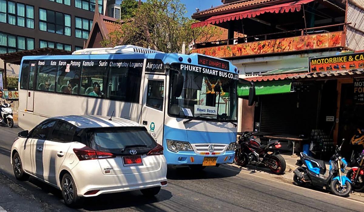 Пхукет. (автобус - модель неизвестна) 10-1147