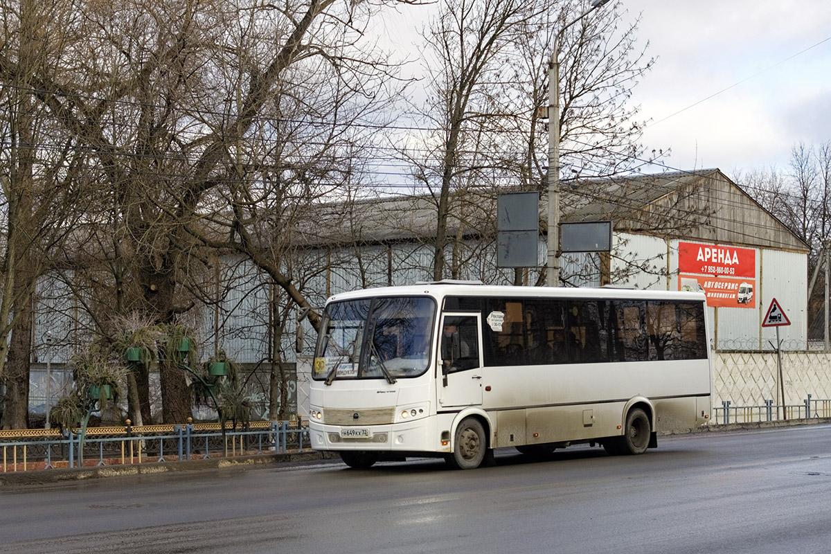Брянск. ПАЗ-320414-04 Вектор н649кх
