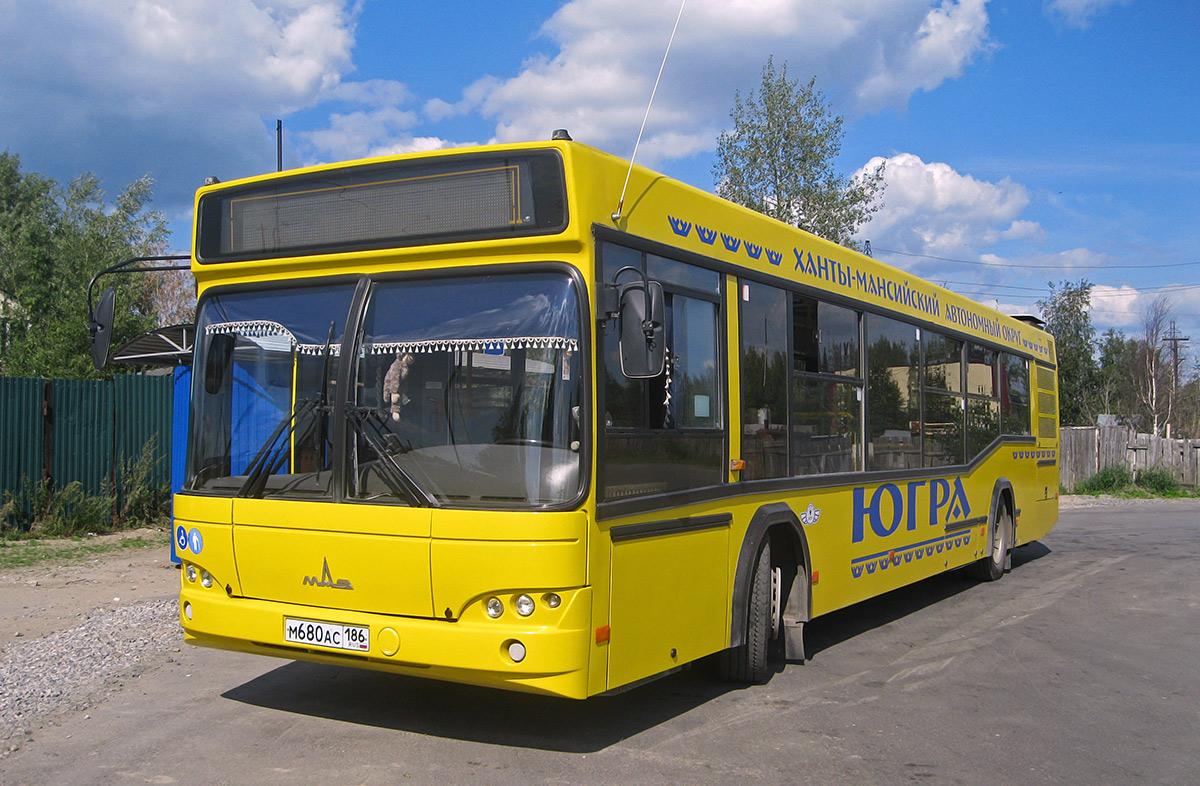 Нижневартовск. МАЗ-103.469 м680ас
