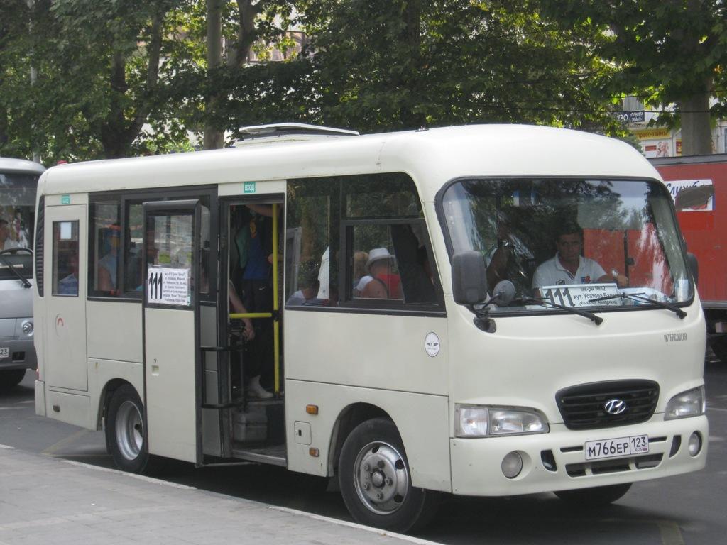 Анапа. Hyundai County SWB м766ер