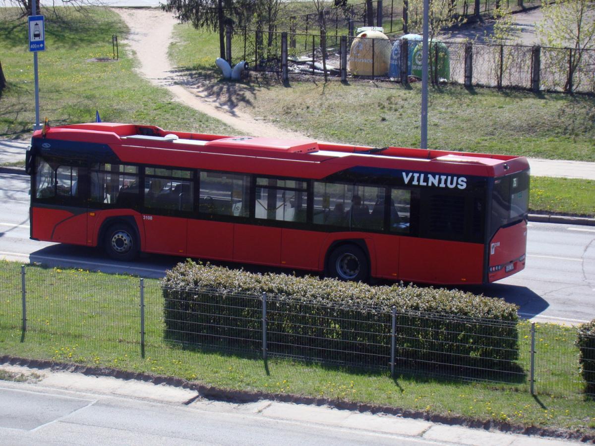 Вильнюс. Solaris Urbino IV 12 KGG 349