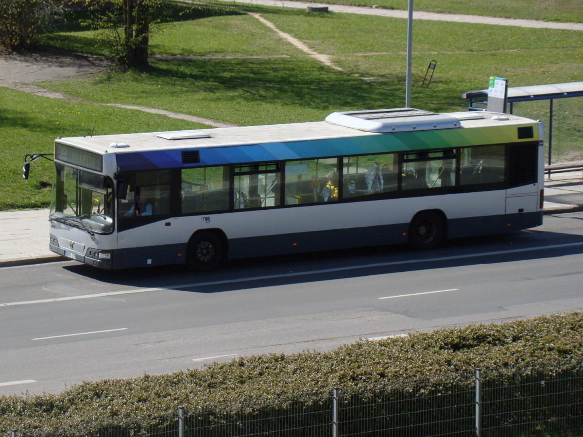 Вильнюс. Volvo 7700 BRN 728