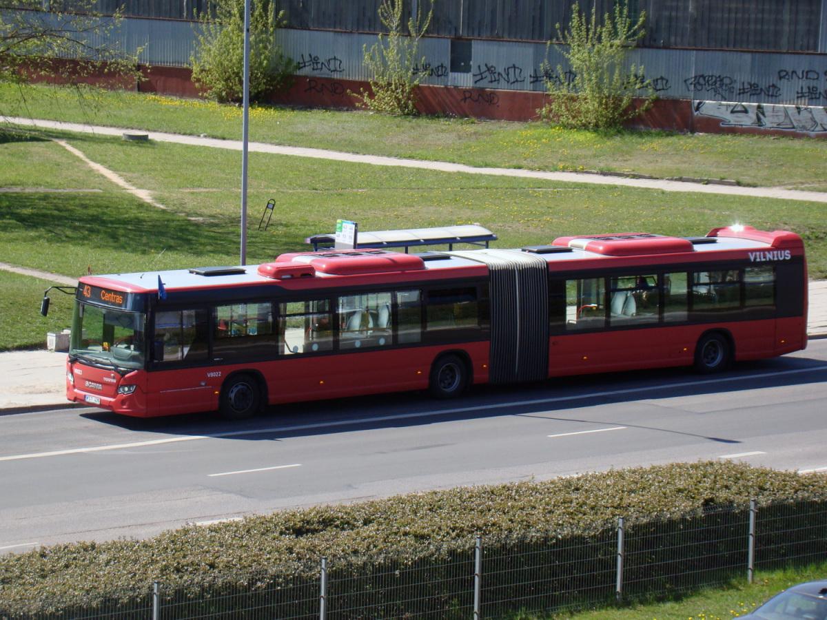 Вильнюс. Scania Citywide LFA KGT 426