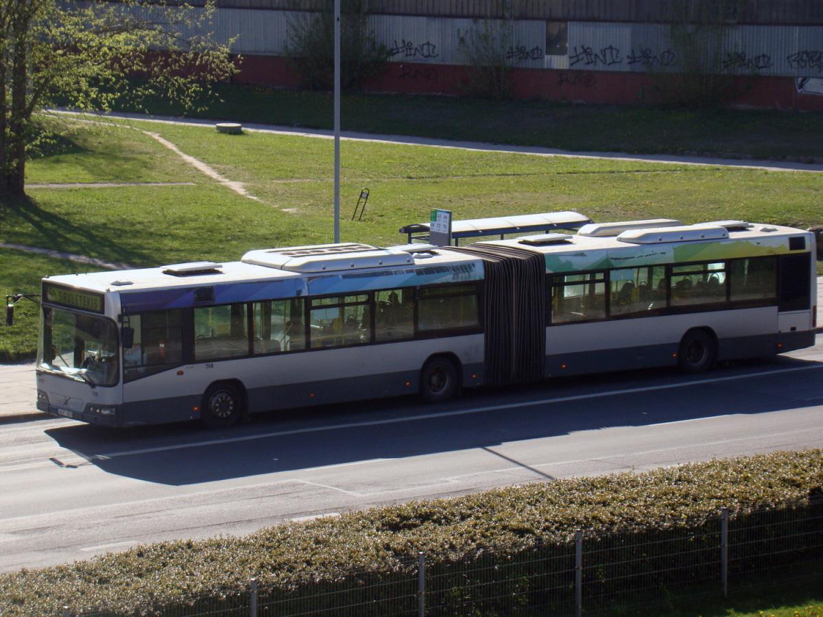 Вильнюс. Volvo 7700A AGF 823