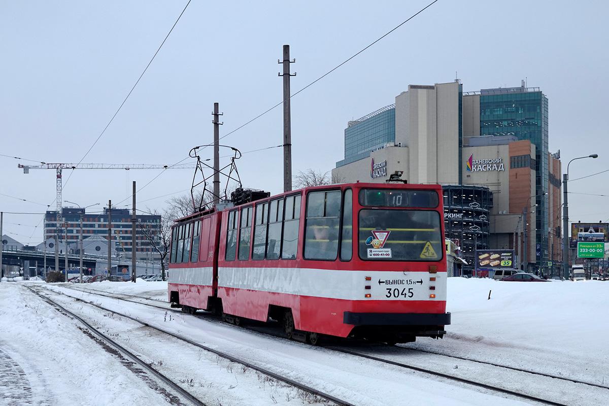 Санкт-Петербург. ЛВС-86К №3045