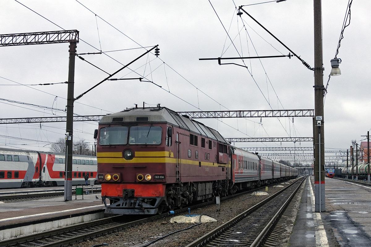 Брянск. ТЭП70-0546