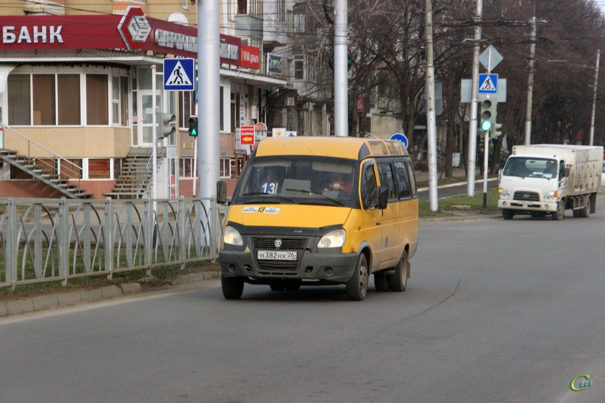 Ставрополь. ГАЗель (все модификации) н382нх