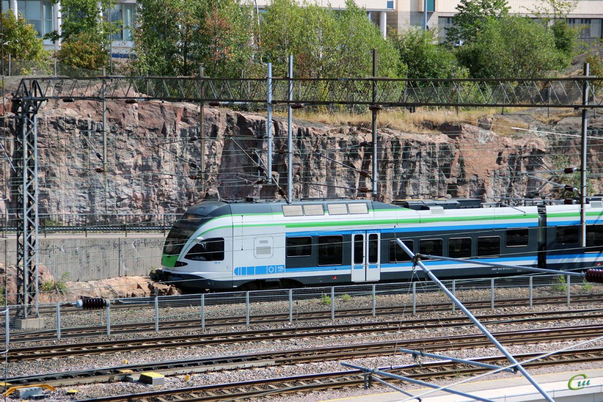 Хельсинки. Stadler FLIRT (Sm5)-05